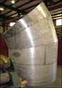"96"" Diameter Stainless Steel Duct Work for an Acid Plant"