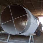 "90"" Diameter Duct Work for an Ammonia Plant"