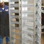"300 lb. Damper Galvanized Carbon Steel ( 73.5"" x 20.5"" x 7.5"" )"
