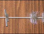 Inconel wire brush